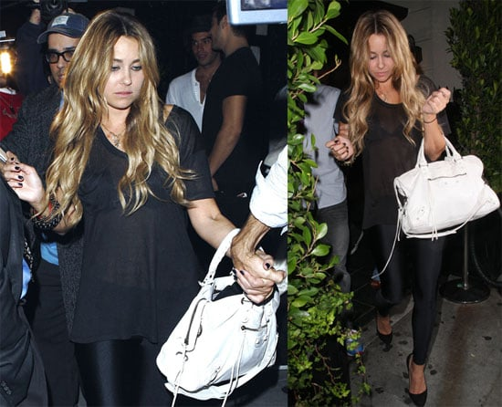 Photos of Lauren Conrad With Kyle Howard at Crown Bar