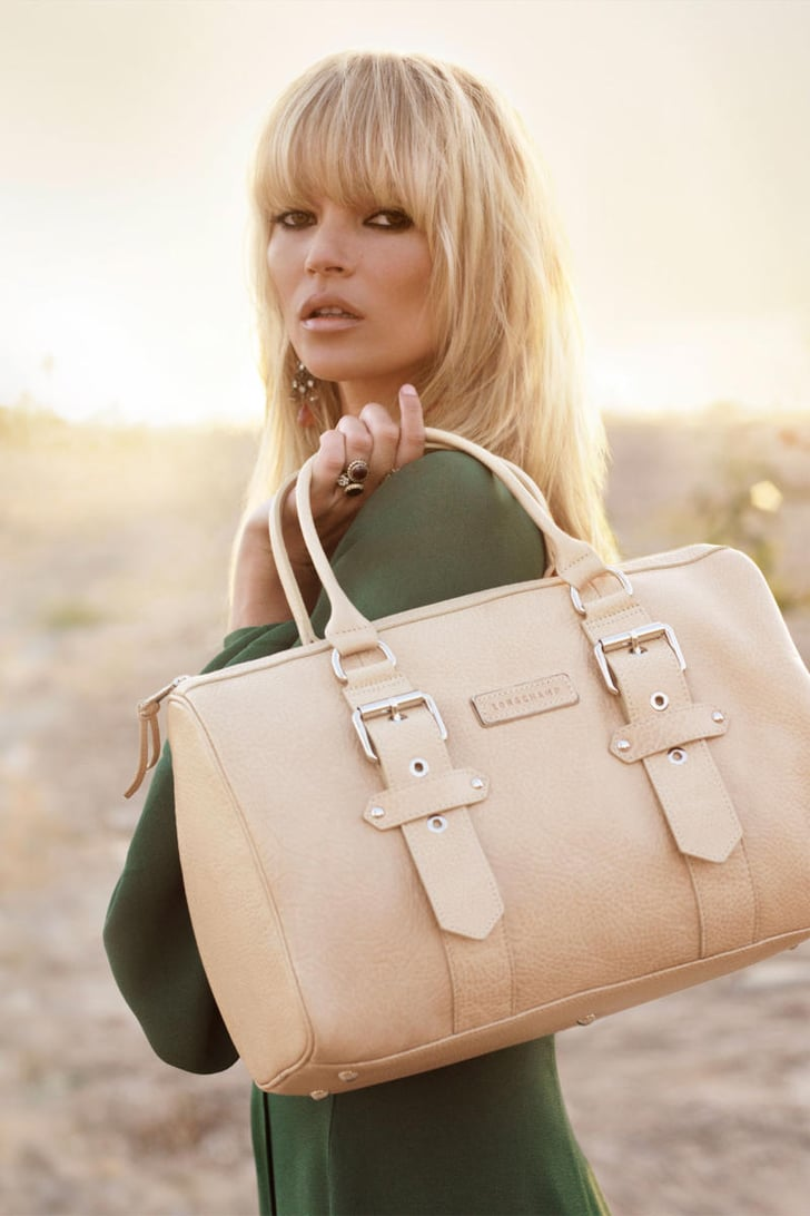 Spring Collection 2011: Longchamp Bags by Kate Moss
