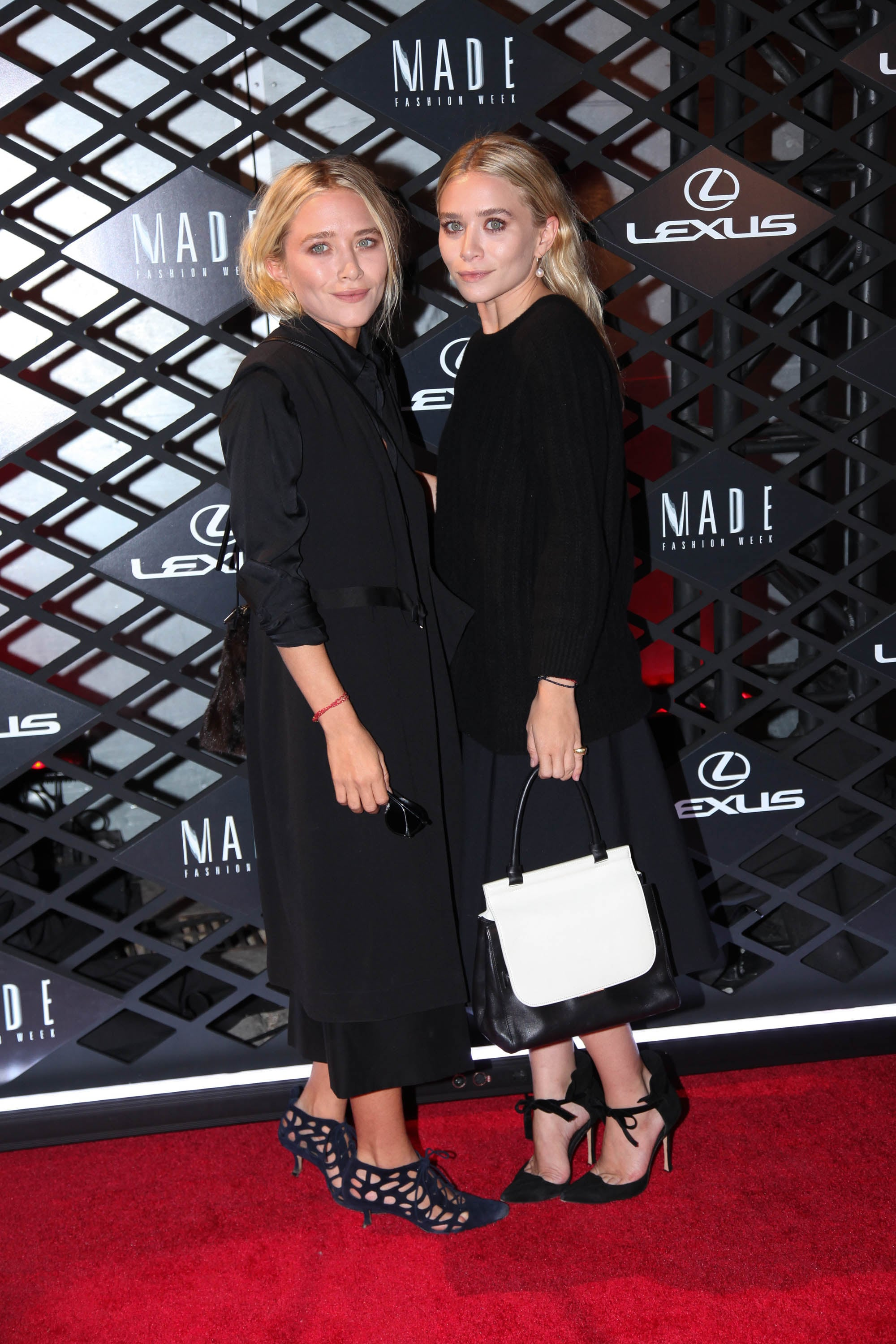 SJP and the Olsen Twins Go Dark During Fashion Week