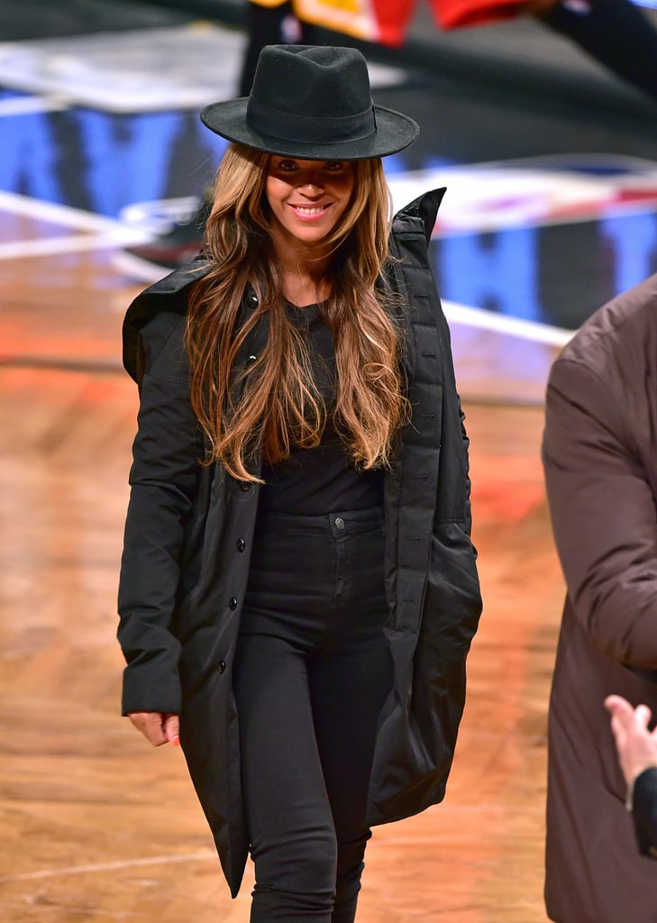 Beyoncé and Jay Z Get the Courtside Giggles as Pregnancy Rumours Swirl