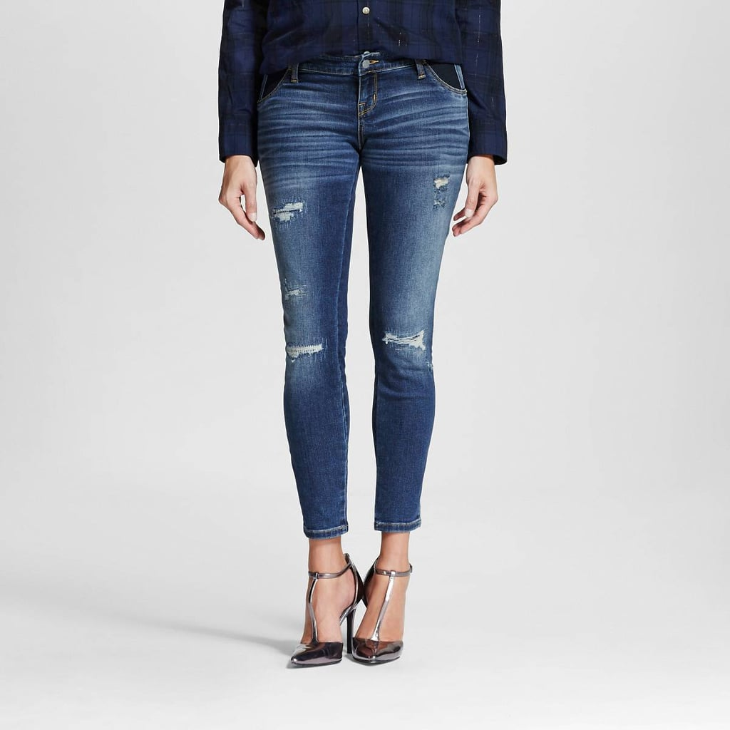 Liz Lange For Target Maternity Skinny Jeans | Best Maternity Jeans |  POPSUGAR Moms Photo 8 - Liz Lange For Target Maternity Skinny Jeans Best Maternity Jeans