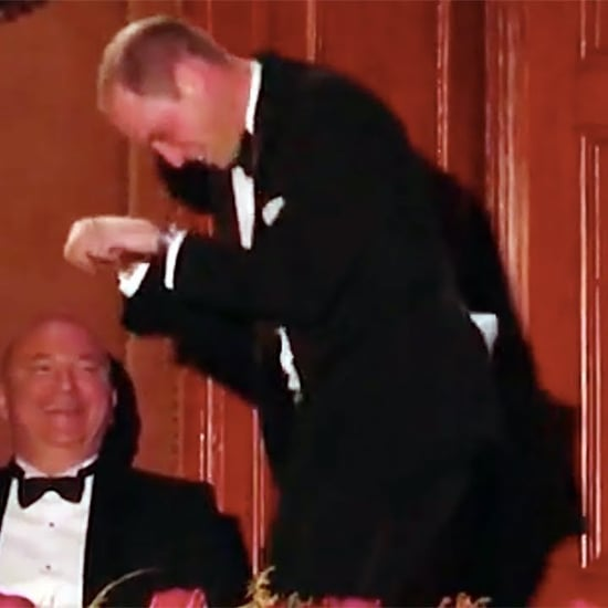 Prince William Galloping at Royal Variety Performance Video