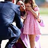 When Princess Charlotte Threw a Tantrum and Kate Middleton Consoled Her