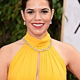 America Ferrera at the Golden Globes