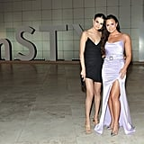Selena Gomez and Demi Lovato at the 2017 InStyle Awards