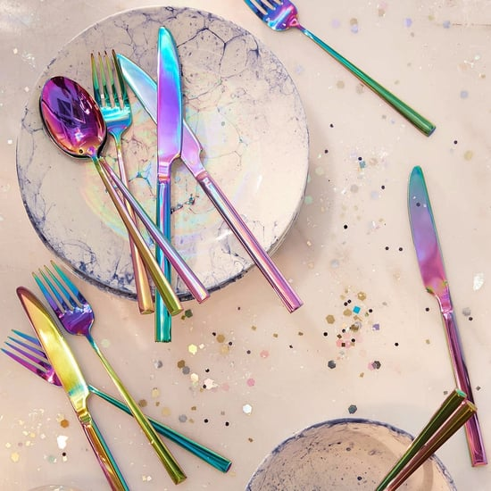 Unicorn-Inspired Oil Slick Iridescent Homewares