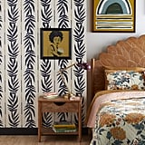 Navy Vintage Palm Peel-and-Stick Wallpaper
