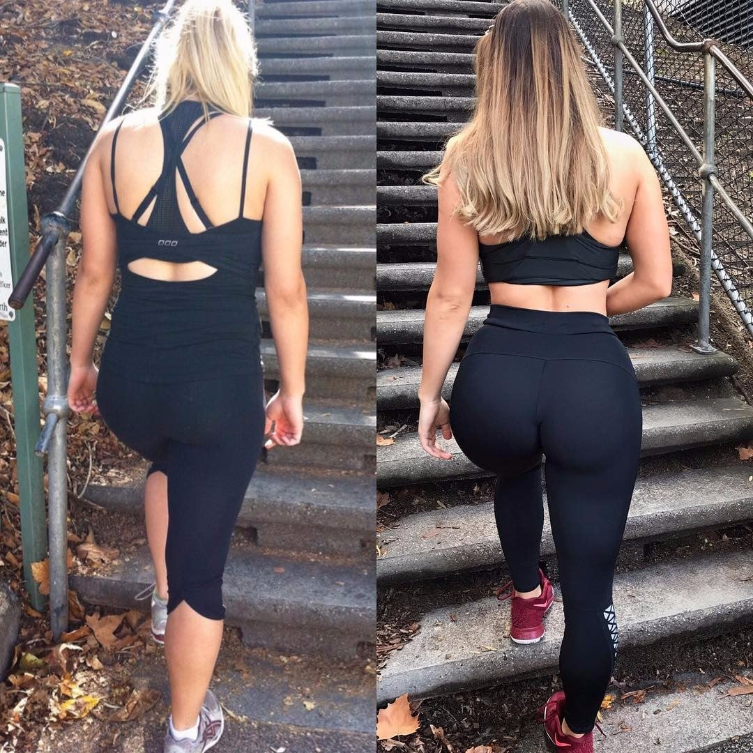 jem wolfie booty gains before and after | popsugar fitness