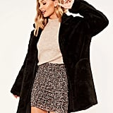 Glassons Longline Borg Coat ($119.99)