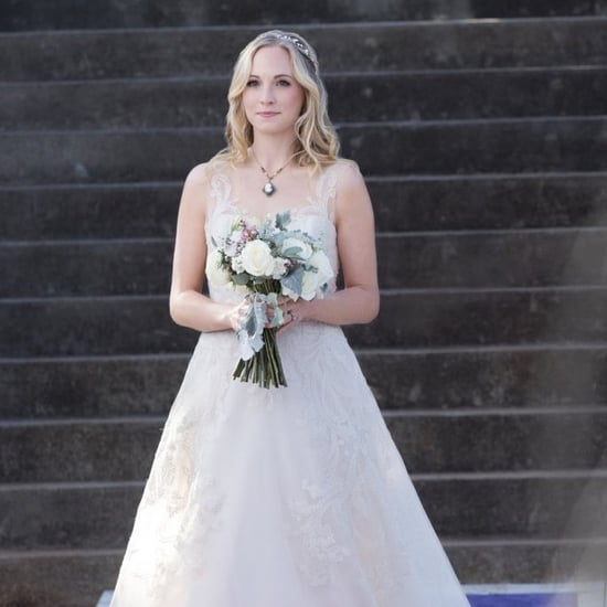 Caroline's Wedding Dress in The Vampire Diaries