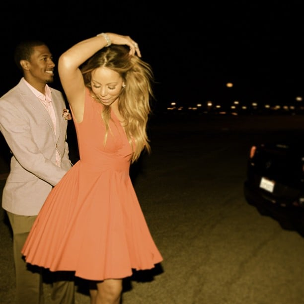Nick Cannon and Mariah Carey danced together in March 2013. Source: Instagram user mariahcarey
