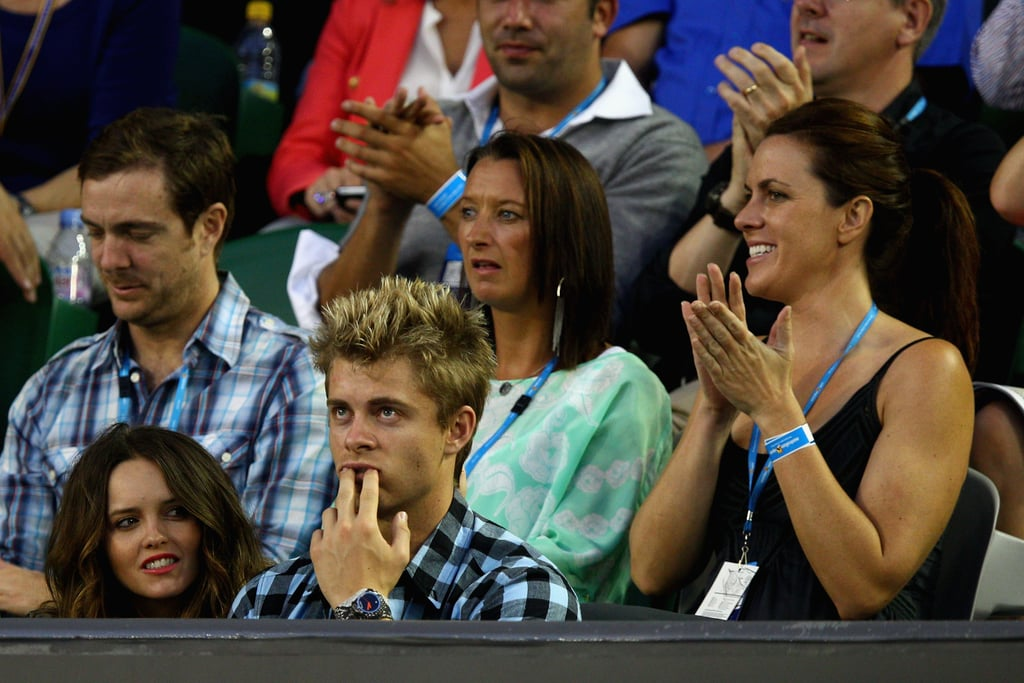 Rebecca Breeds, Luke Mitchell and Layne Beachley
