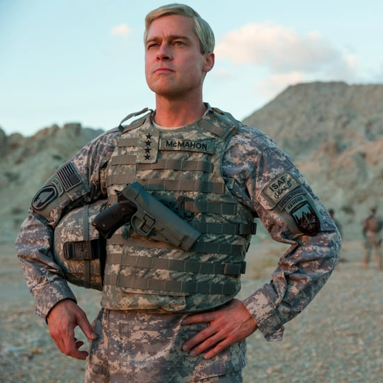 Brad Pitt's War Machine Movie Film in Abu Dhabi on Netflix