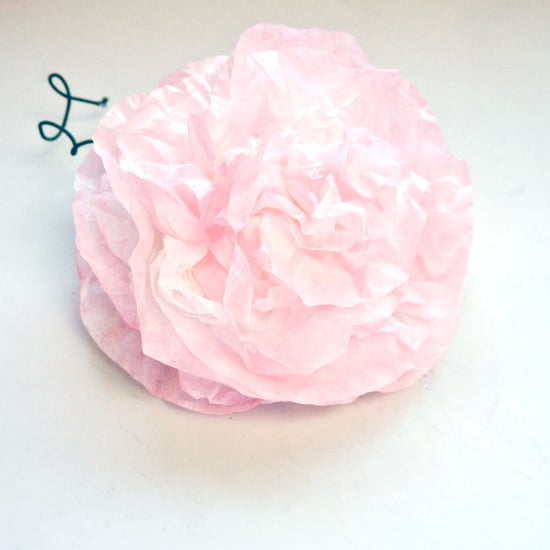 Homemade paper flower wedding decorations popsugar smart living mightylinksfo