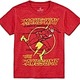 Novelty T-Shirts The Flash Awesome Graphic T-Shirt