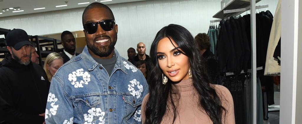 Kim Kardashian and Kanye West's Outfits in New York