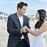 Courteney Cox and Josh Hopkins on Cougar Town. Photo copyright 2012 ABC, Inc.