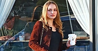 Lily-Rose Depp's Chanel Purse Is Glam, but We Wanted Those Kitten Heels, Like, Yesterday