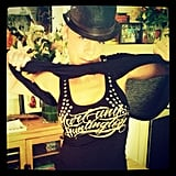 Pink showed off her new Hart and Huntington clothes, courtesy of husband Carey Hart.  Source: Instagram user pink