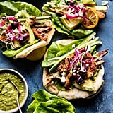 Greek Goddess Chicken Lettuce Wraps