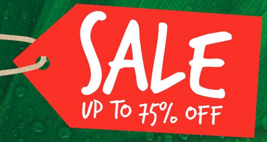 Bella Bargain: Up to 75% Off at the Body Shop