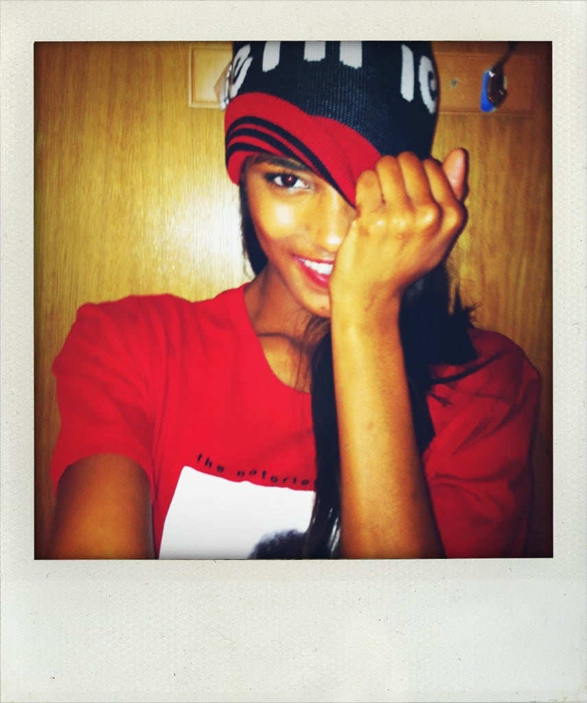 Model Jourdan Dunn posed for the camera. Source: Twitter user missjourdandunn
