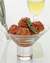 Polpette in Spicy Tomato Sauce