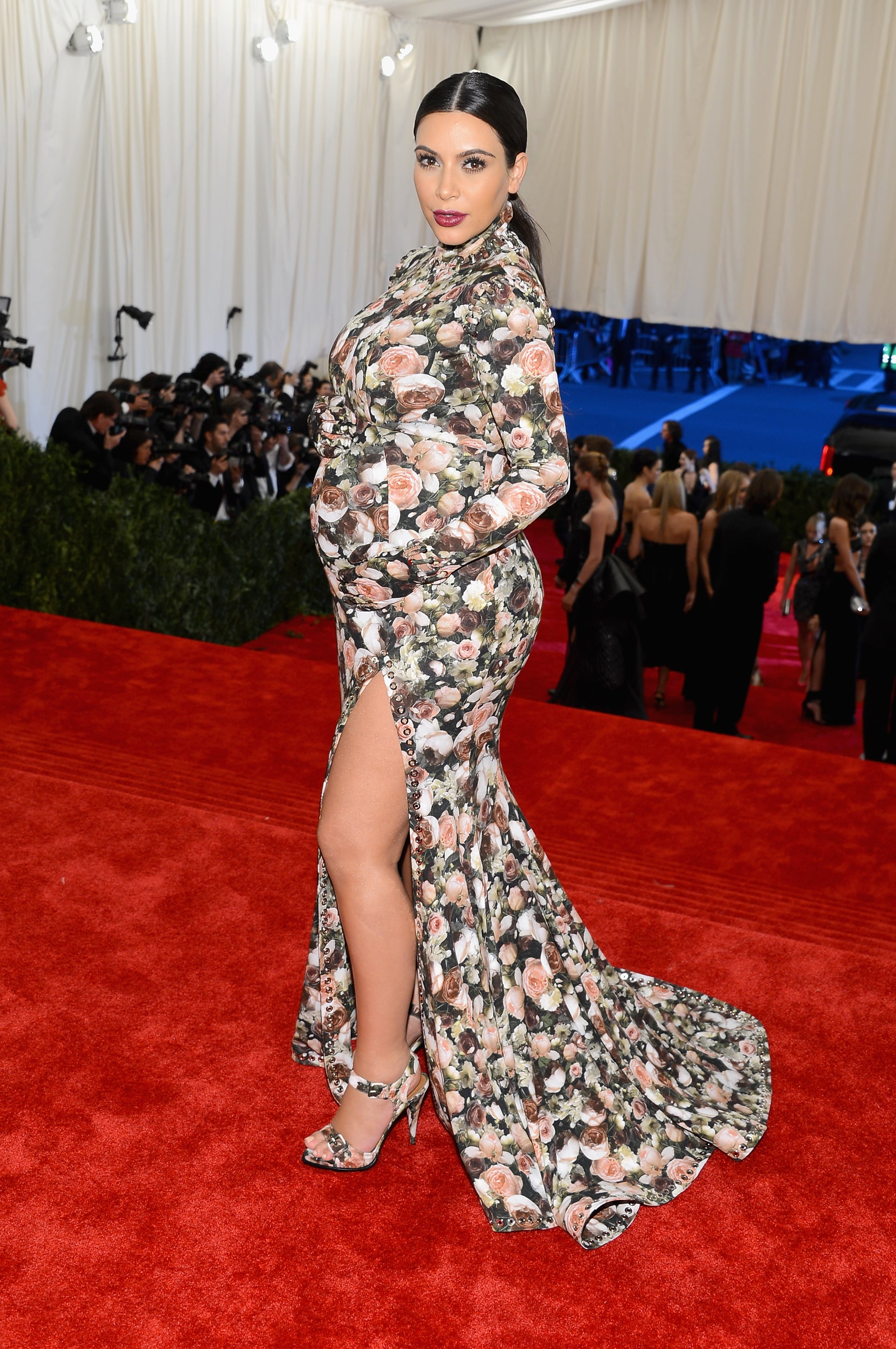 NEW YORK, NY - MAY 06:  Kim Kardashian attends the Costume Institute Gala for the