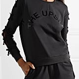 The Upside Bowie Bow-Embellished Sweatshirt