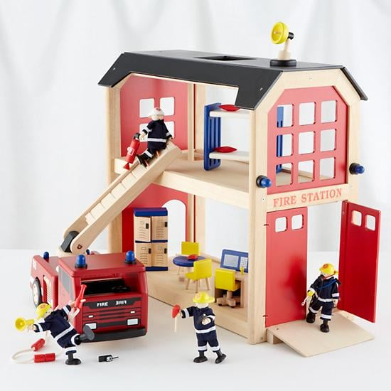 The Land of Nod Everything but the Dalmation Firehouse