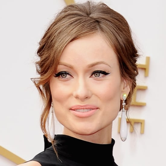 Olivia Wilde Hair and Makeup at Oscars 2014