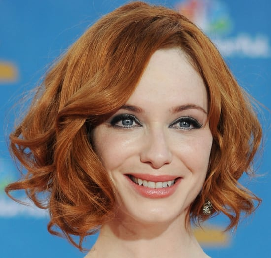 Christina Hendricks Emmys 2010 Makeup Look
