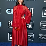Chloe Bridges at the 2020 Critics' Choice Awards