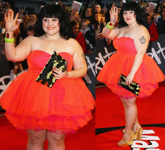 Beth Ditto On The Brit Awards Red Carpet