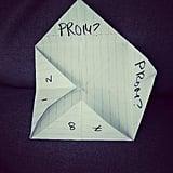 Paper Fortune-Teller