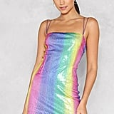 Nasty Gal Show Your True Colors Sequin Mini Dress