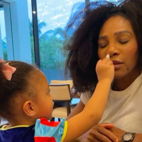 Serena Williams Gets Fake COVID Test From Daughter Olympia