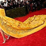 Rihanna's Gown Just Dominated the Met Gala Red Carpet