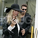 Kate Moss, Jamie Hince After Honeymoon Pictures