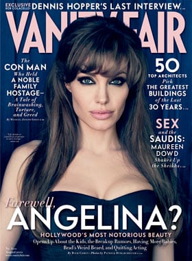 Angelina Jolie in the August 2010 Issue of Vanity Fair
