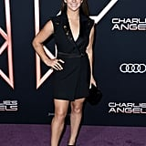 Aly Raisman at the Charlie's Angels Premiere