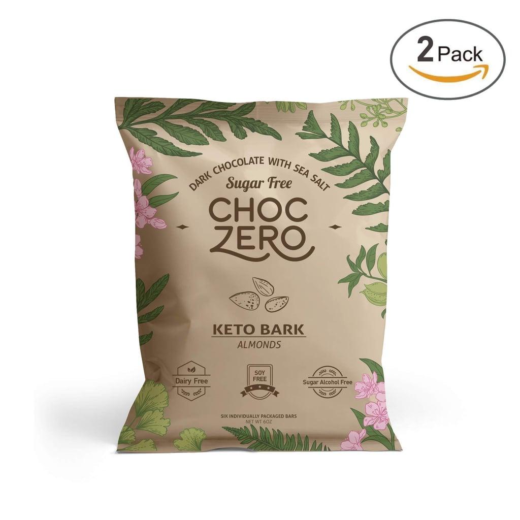 ChocZero's Keto Bark, Milk Chocolate Almonds
