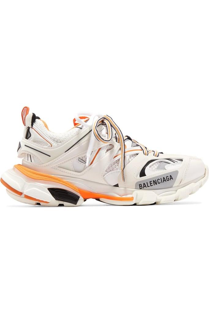 balenciaga track trainers orange off 52% lagourmette