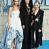 Pictured: Lily James, Cher, and Amanda Seyfried