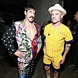Pictured: Anthony Kiedis and Flea