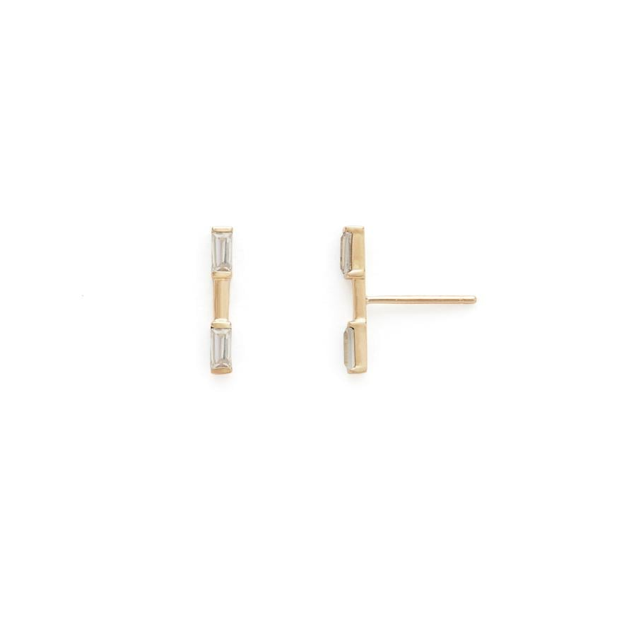 Stella And Bow Naomi Bar Earrings