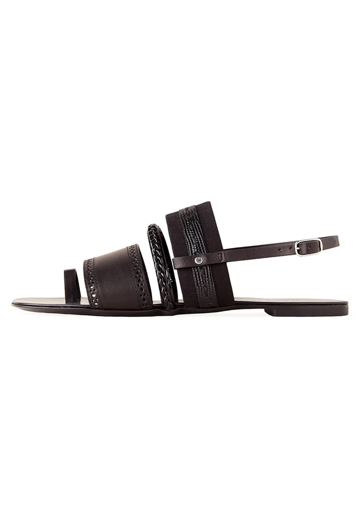 We love the braided details on this minimalist sandal for its overt textured boost. Proenza Schouler Braided Flat Sandal ($650)