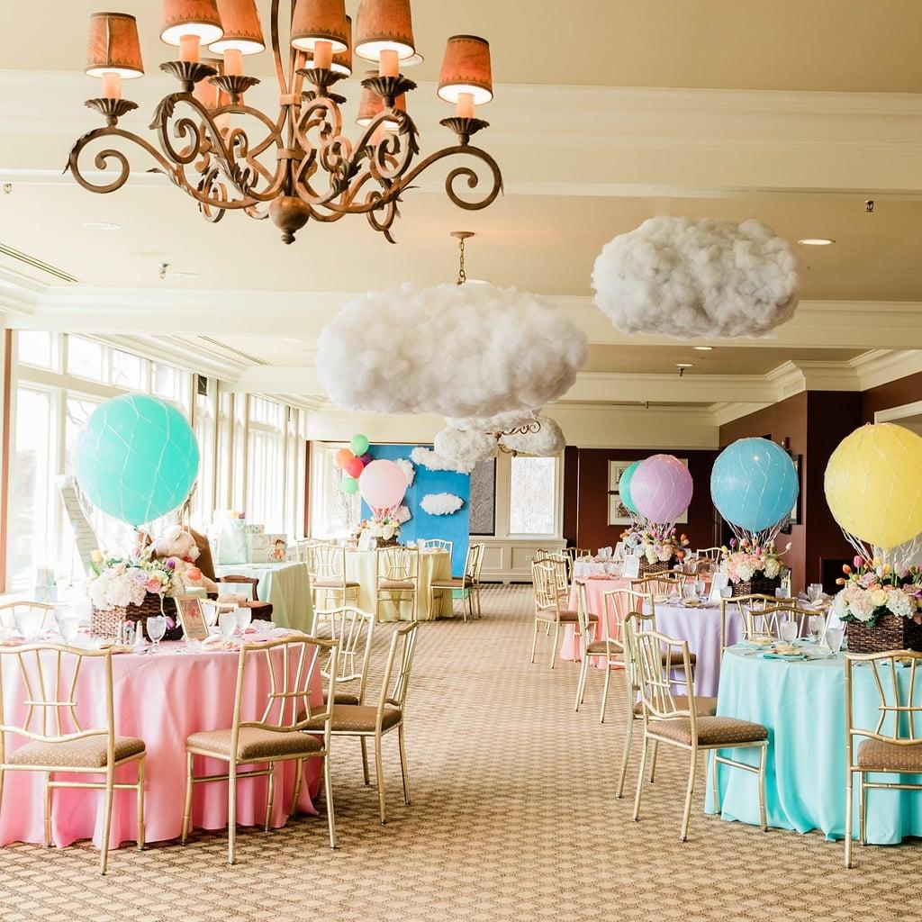 Hot Air Balloon Baby Shower Ideas Popsugar Family