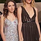 Laura Dern and Daughter Jaya Harper 2018 SAG Awards