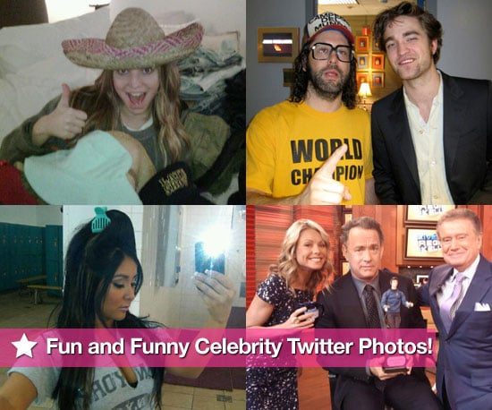 Fun and Funny Celebrity Twitter Photos 2010-03-05 19:00:00